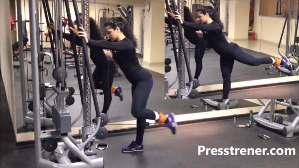Отведение ноги в кроссовере техника выполнения