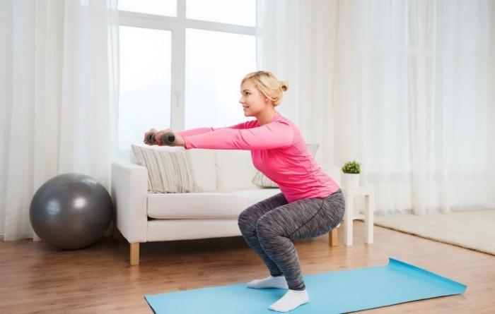 Программа тренировок с собственным весом для девушек женщин
