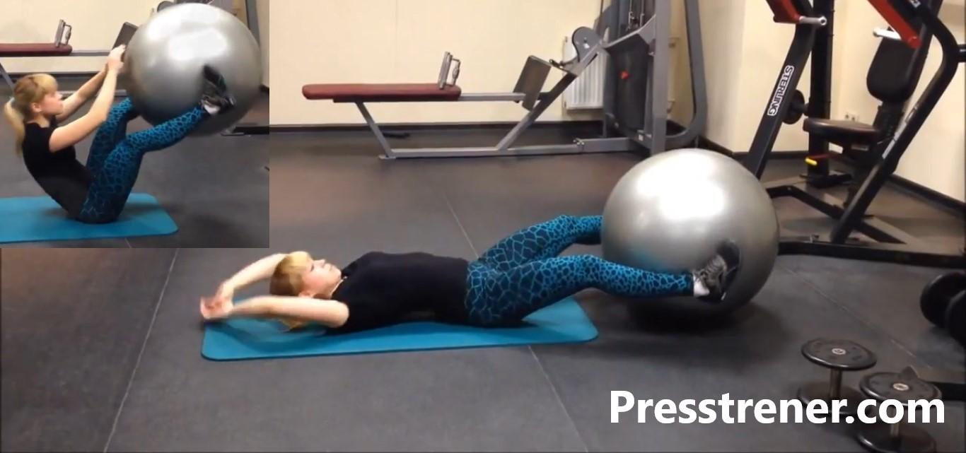 Пресс упражнения для дома и тренажерного зала